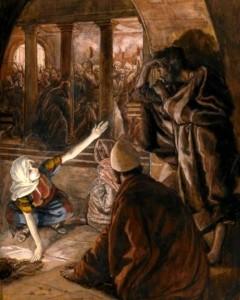 jesus and peter's denial